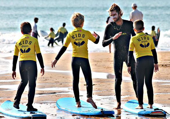Aulas de Surf Regulares - Escola de Surf Angels Surf School (nível 1)