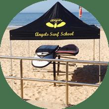 Escola de Surf Angels Surf School (Instalações)