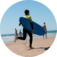 Escola de Surf Angels Surf School (Aulas)
