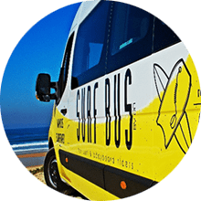 Transporte-Licenciado-Escola-de-Surf-Angels-Surf-School