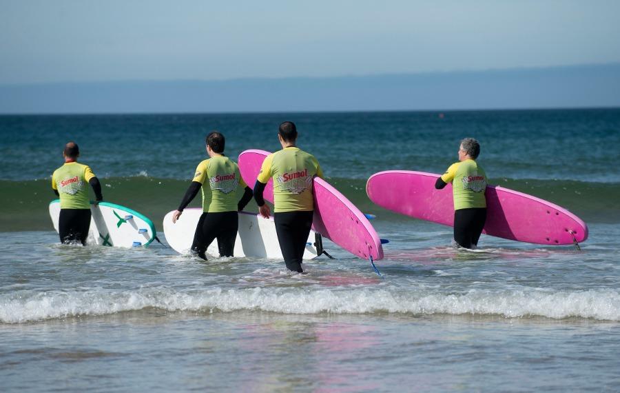 Team Building - Escola de Surf Angels Surf School (2)