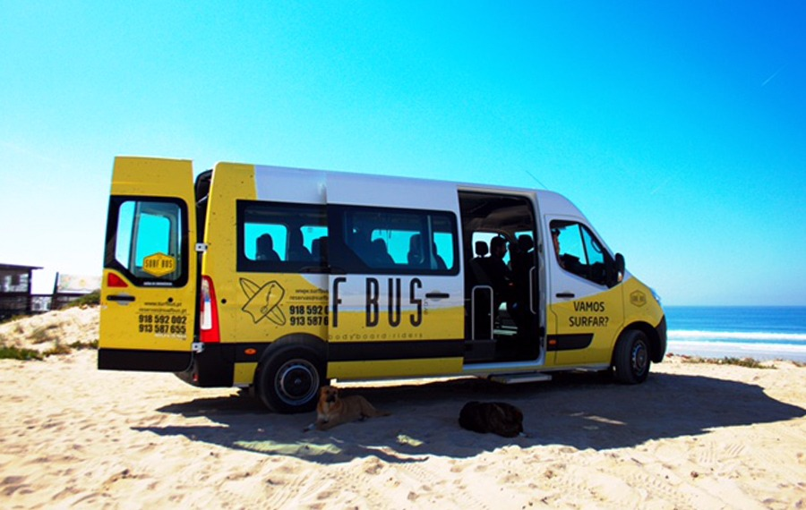 Transporte Licenciado - Escola de Surf Angels Surf School (3)