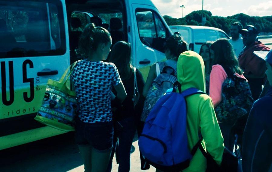 Transporte Licenciado - Escola de Surf Angels Surf School (2)