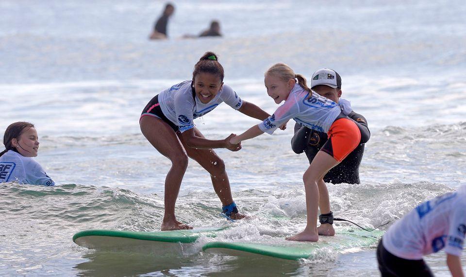 segurança no surf - angels surf school
