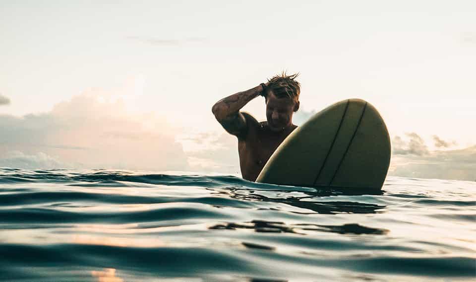 Surf: remédio para a ansiedade